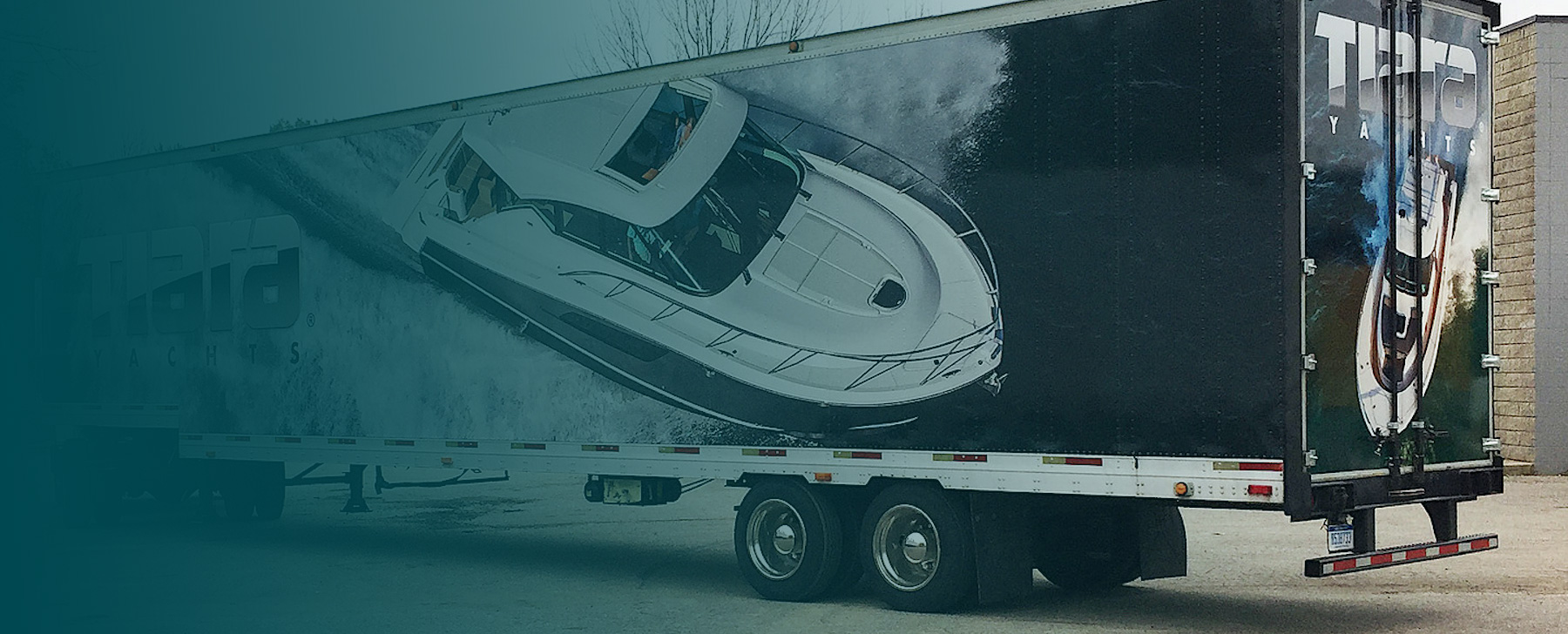 custom semi trailer wraps