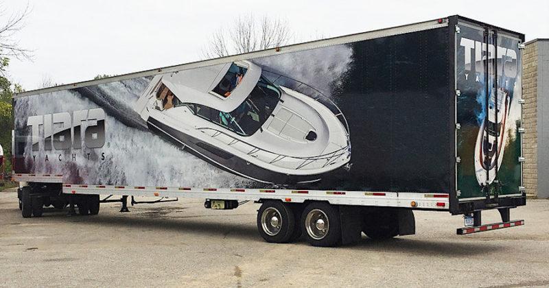 semi truck wraps